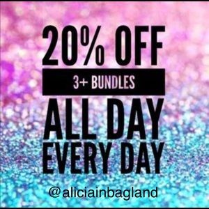 Handbags - BUNDLE 3 and GET 20% OFF‼️